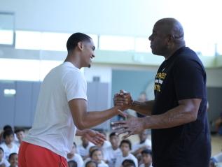 Jordan Clarkson's Youth BasketballCamp